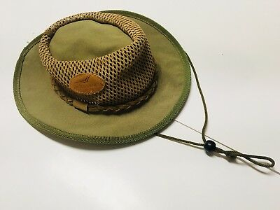 1182d5dc14a THE ORIGINAL ROGUE Handcrafted Leather   Canvas Safari   Bush Hat ...