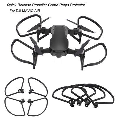 4PC Propeller Guard Props Protector Rapid Release For DJI Mavic Air FPV Drone BK