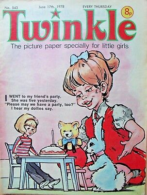 TWINKLE COMIC - 17th JUNE 1978 (17th - 23rd) - RARE 40th BIRTHDAY GIFT!!