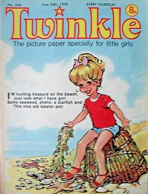 TWINKLE COMIC - 24th JUNE 1978 (24th - 30th) - RARE 40th BIRTHDAY GIFT!!