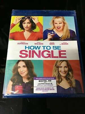 How To Be Single Blu-ray NEW Blu ray FREE SHIPPING!!!