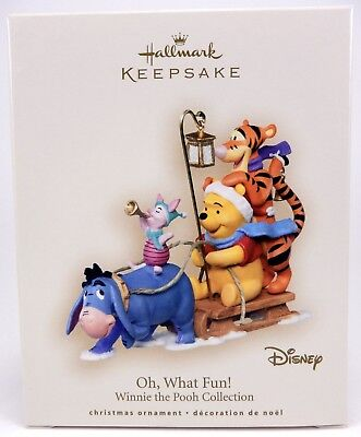 2007 Disney Oh, What Fun! Winnie the Pooh Collection Hallmark Keepsake Ornament