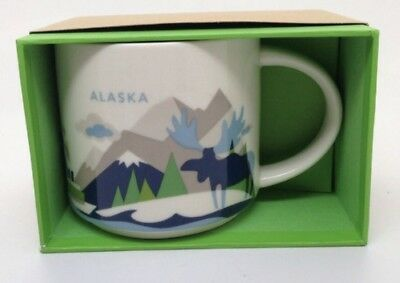 Starbucks Alaska You Are Here (YAH) Mugs 14oz Free Fast Shipping