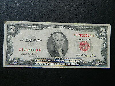 United States $2 1953 Red Seal