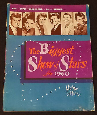 1960 The Biggest Show Of Stars - Rock 'n Roll Concert - Mid Year Edition Program