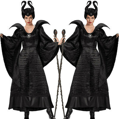 Deluxe Evil Queen Witch Uniform Halloween Outfit Fancy Dress Cosplay Costume #  sc 1 st  PicClick UK & HALLOWEEN PARTY Evil Princess Costume Baby Girl Fancy Dress Outfit ...