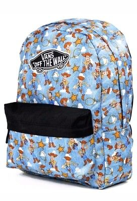 Brand New  Vans Exclusive X Disney Toy Story Backpack  Sheriff Woody - Andy  Buzz