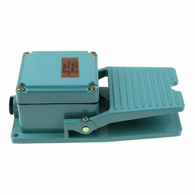 Antislip Industrial Foot Operated Pedal Switch Footswitch AC 250V 15A Durable