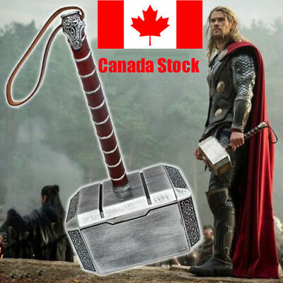 Avengers Thor the Dark World Hammer Mjolnir 1:1 Replica Prop Cosplay