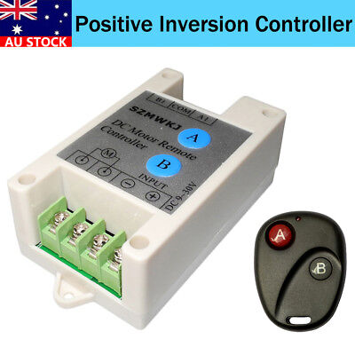 10A 9-30V Linear Actuator DC Motor Controller Switchable Wireless Control Kits