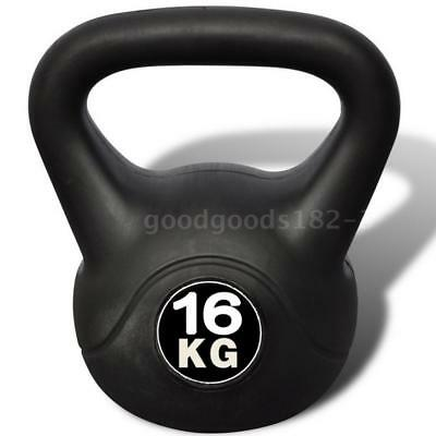Kettle Bell Training Weight Gym Strength Exercise Dumbbell Kettlebell 16KG O0U9