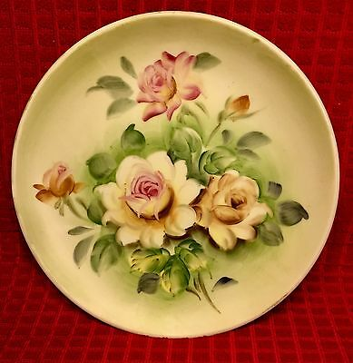 "LEFTON China 8 1/4"" SL 5936 Vintage Hand-Painted Wall Plate"