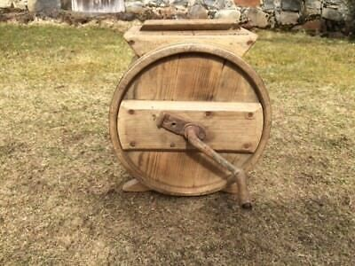 Antique Vintage Pine Butter Churn