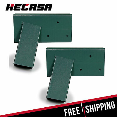 2 BRACKETS HEAVY Duty Steel 1-2-3 A-Frame Swing Pair Set Green ...