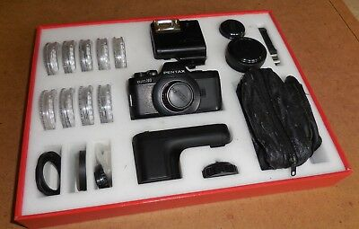 PENTAX AUTO 110 SLR SYSTEM COMPLETE KIT BOXED WITH MANUALS & outer sleeve