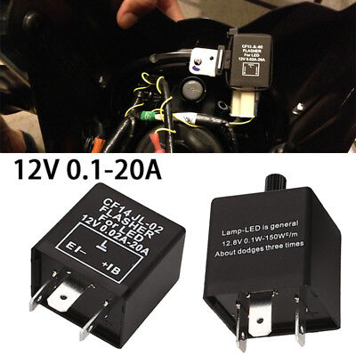 Fix Turn Signal Hyper Flash Replacement Accessories Start Relay Flasher Relay