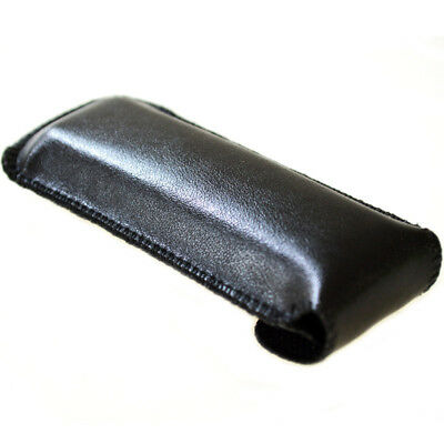 Zebra Leather Storage Bag With Buckle For 24 Holes Harmonicas Protective Case