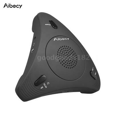 Aibecy USB Omnidirectional Condenser Microphone Conference Mic 360° Audio Pickup