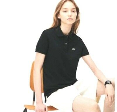BNWT REDUCED Lacoste L1212 classic 100%cotton,black Polo-As in pictures-see det