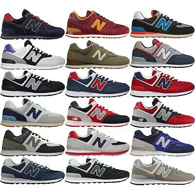 new concept 03a5a 4712e NEW BALANCE 574 Classic Men's Running Lifestyle Shoes Comfy Casual Sneakers