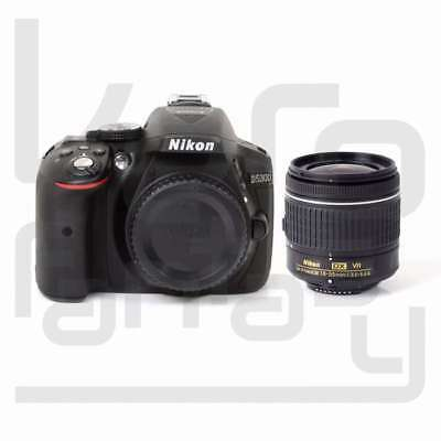 Authentique Nikon D5300 DSLR Camera + AF-P DX 18-55mm f/3.5-5.6G VR Lens Kit