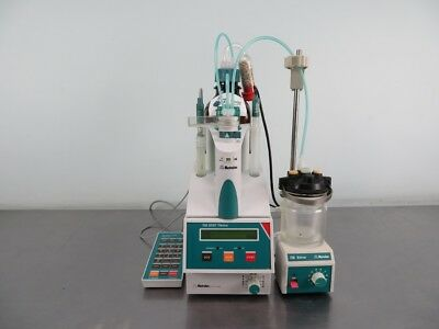Metrohm Stat Titrino Titrator 718 with Warranty SEE VIDEO