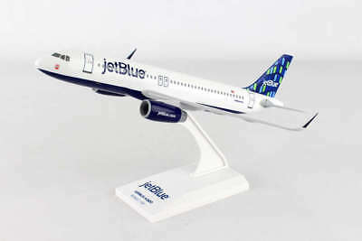 Skymarks Jetblue (High Rise Tail) Airbus A320 1/150 Scale Model with Stand