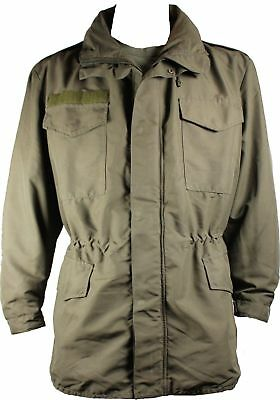Austrian Army M65 Goretex Jacket Waterproof Smock Alpine Coat Lined Olive Used