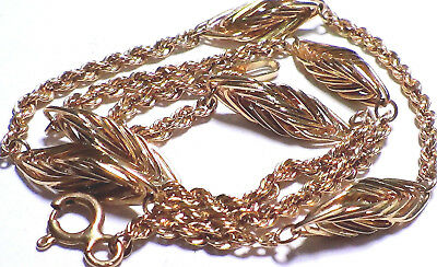 Solid 14K Yellow Gold Anklet 10.75 Inches Long  No Reserve
