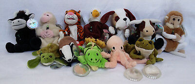 12 Coca Cola International Collection Plushes w/ tags + 6 w/ tag protectors 1999