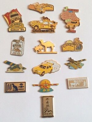 Lot 14 Pin's CAMEL Tabac Tobacco Cigarettes Rallye Captown Citröen ZX