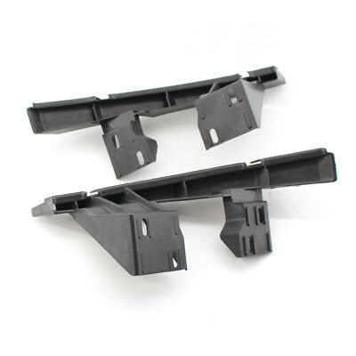 Fit AUDI Q7 2007-15 Front Left+Right Pair Bumper Guide Bracket Retainer Support