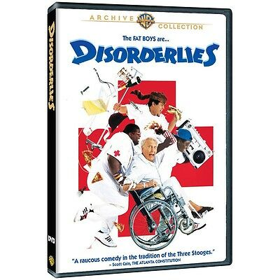 Disorderlies DVD 1987 The Fat Boys  Warner Archive (MOD DVD-R)
