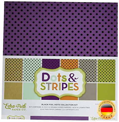 ECHO PARK Paper dsf16056doppelseitig Collection Pack, mehrfarbig, 12x 12Z