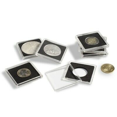 35mm 2x2 Coin Holders Lighthouse Quadrum Square Capsules 10 Pack Canadian Dollar