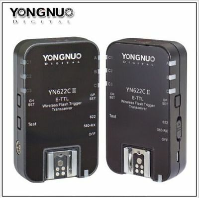 Yongnuo Updated YN-622C  HSS + TTL Wireless Flash Trigger 1/8000 for Canon