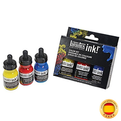 Liquitex Professional Acrylic Ink Set 3 colores – 3 x 30 ml