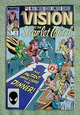 The Vision and the Scarlet Witch #6 (Mar 1986, Marvel) 6.0 FN