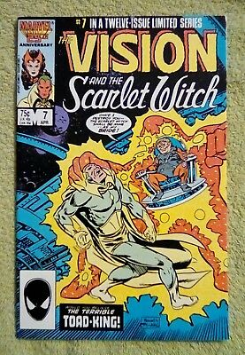 The Vision and the Scarlet Witch #7 (Apr 1986, Marvel) 6.0 FN