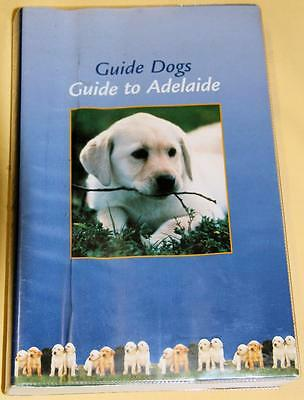 Collectible Guide Dogs Guide To Adelaide Gregory's 1996 Street Directory -Ex