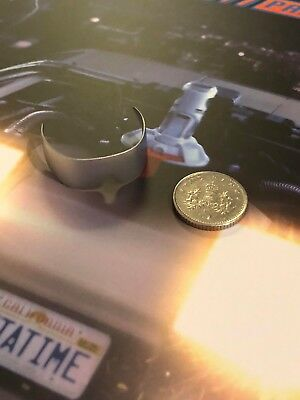 Hot Toys Back to the Future 2 Doc Brown Silver Sunglasses loose 1/6th scale