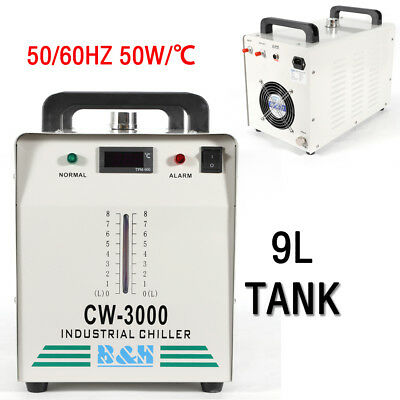 CW-3000 Industry Water Chiller for CO2 Laser Engraving Cutting Machine 110V US