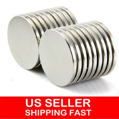 50/100 12mm x 2mm Neodymium Disc Strong Rare Earth Small Fridge Magnets N35 NEW