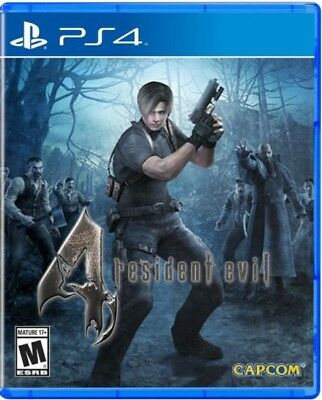 Resident Evil 4 IV PS4 | PlayStation 4 - New Game