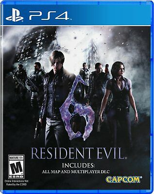 Resident Evil 6 VI PS4 | PlayStation 4 - New Game