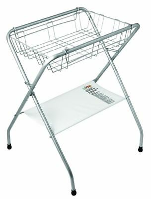 Primo Folding Bath Stand, Silver Gray (FREE SHIPPING)