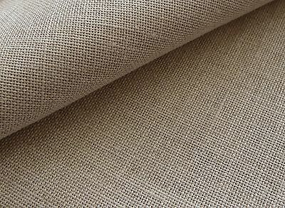 Natural 25 count Zweigart Dublin Linen evenweave fabric 48 x 35 cm