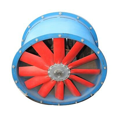 3 PHASE 700mm ID 1.5kW Fan Ventilation Air Conditioning HVAC Ducted Heating