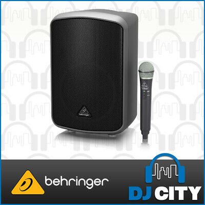 Behringer MPA200BT Portable PA Speaker Bluetooth w/ Battery & Wireless Mic