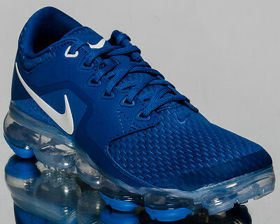 reputable site e0a50 50a64 Nike Air VaporMax GS youth running sneakers blue Last size 5,5 US 917963-